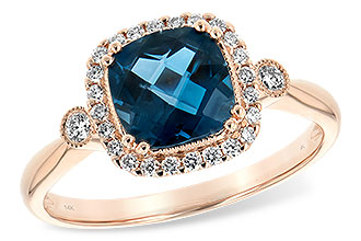 D198-83386: LDS RG 1.62 LONDON BLUE TOPAZ 1.78 TGW