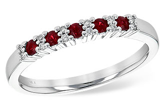 D199-74358: LDS WED RG .22 RUBY .29 TGW