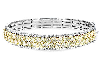 E198-85204: BANGLE 8.17 YELLOW DIA 9.64 TW