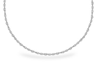 E282-52476: 1.5MM 14KT 22IN GOLD ROPE CHAIN WITH LOBSTER CLASP