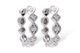 F010-64276: EARRINGS .22 TW
