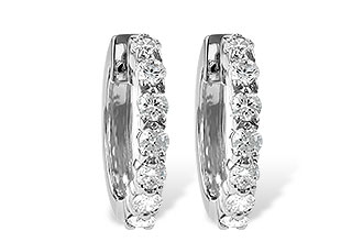 L010-67012: EARRINGS 1.00 CT TW