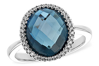 L198-84285: LDS RG 5.31 LONDON BLUE TOPAZ 5.45 TGW