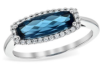 M199-77985: LDS RG 1.79 LONDON BLUE TOPAZ 1.90 TGW